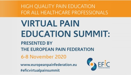 Be Part of the Biggest Pain Education Event in 2020
